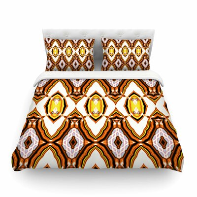 Inspired By Psychedelic Art Pattern by Dawid Roc Featherweight Duvet Cover Size: King
