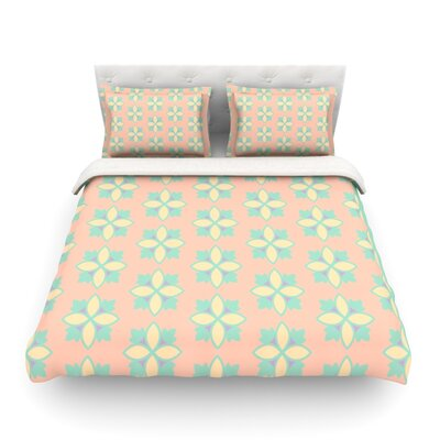 Pattern by Deepti Munshaw Featherweight Duvet Cover Size: King