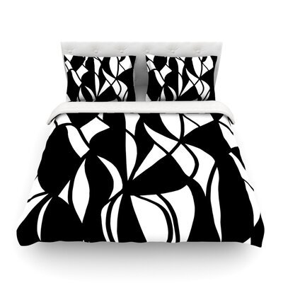 Sinuous by Emine Ortega Featherweight Duvet Cover Size: King
