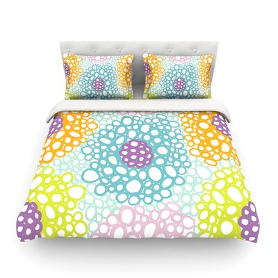 Bubbly by Emine Ortega Featherweight Duvet Cover Size: King