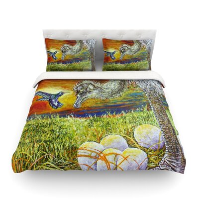 Ostrich by David Joyner Featherweight Duvet Cover Size: Twin