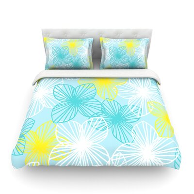 Sunshine by Emine Ortega Featherweight Duvet Cover Size: King
