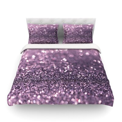 Sparkle Glitter by Debbra Obertanec Featherweight Duvet Cover Size: King