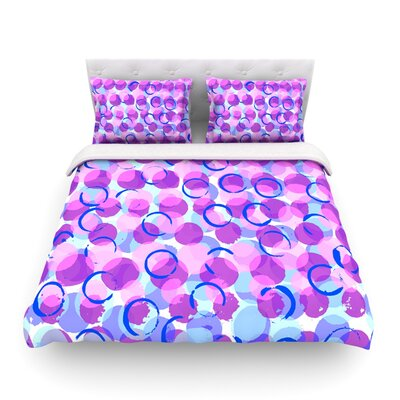 Dotty by Emine Ortega Featherweight Duvet Cover Size: Twin