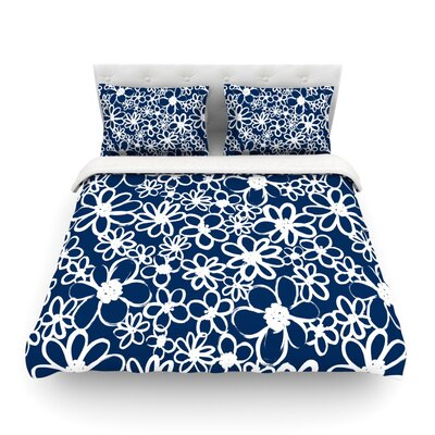 Daisy Lane by Emine Ortega Featherweight Duvet Cover Size: King