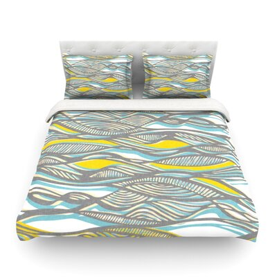 Drift by Gill Eggleston Featherweight Duvet Cover Size: Full/Queen