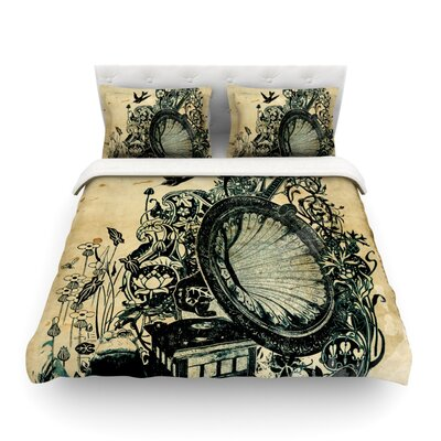 Sound of Nature by Frederic Levy-Hadida Featherweight Duvet Cover Size: Full/Queen