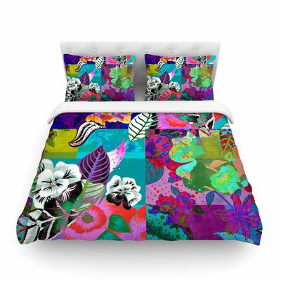 Chita Abstract by Fernanda Sternier Featherweight Duvet Cover Size: Full/Queen
