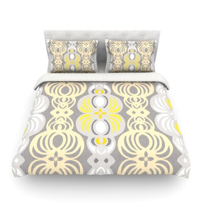Chalene by Gill Eggleston Featherweight Duvet Cover Size: Full/Queen