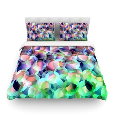 Bubbles by Gabriela Fuente Featherweight Duvet Cover Size: King