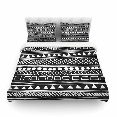Redefined BW by Fimbis Featherweight Duvet Cover Size: Full/Queen