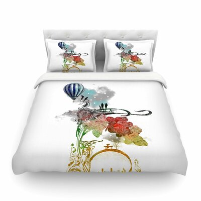 A Little Paradise by Frederic Levy-Hadida Featherweight Duvet Cover Size: Twin