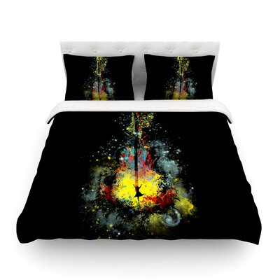 Midnight Syphony by Frederic Levy-Hadida Featherweight Duvet Cover Size: King