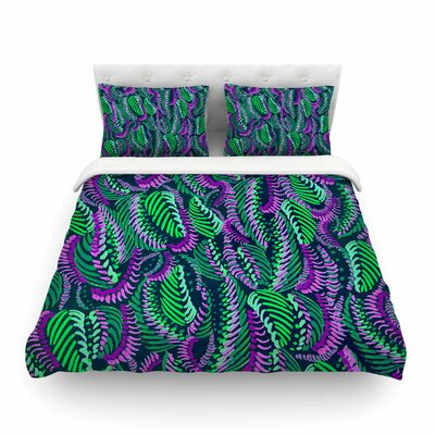 Rithym Digital by Fernanda Sternier Featherweight Duvet Cover Size: Twin