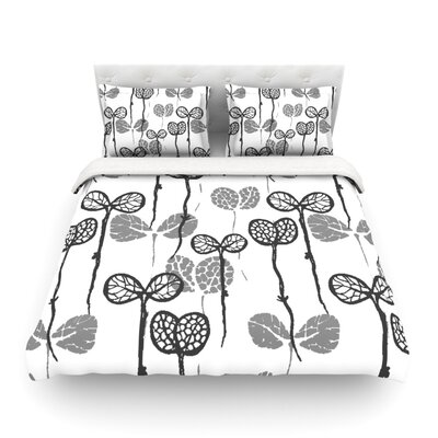 Seedlings of Change by Gill Eggleston Featherweight Duvet Cover Size: Full/Queen