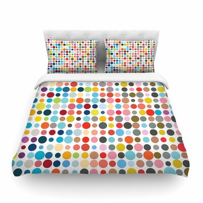 Tangled Up in Colour byFimbis Featherweight Duvet Cover Size: King
