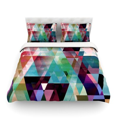 Splash by Gabriela Fuente Featherweight Duvet Cover Size: King