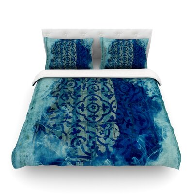 Mosaic by Frederic Levy-Hadida Featherweight Duvet Cover Size: King