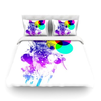 Ow by Frederic Levy-Hadidal Featherweight Duvet Cover Size: Twin