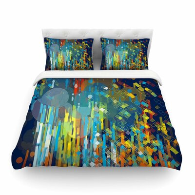 Color Fall by Frederic Levy-Hadida Featherweight Duvet Cover Size: King