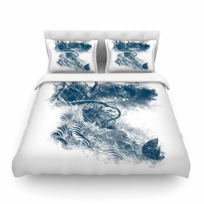 No Escape by Frederic Levy-Hadida Featherweight Duvet Cover Size: Full/Queen