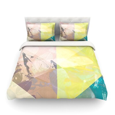 Patch Garden by Gabriela Fuente Featherweight Duvet Cover Size: Full/Queen
