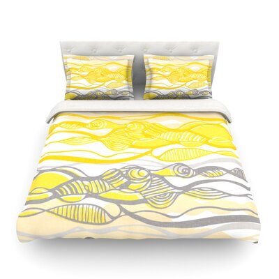 Kalahari  by Gill Eggleston Featherweight Duvet Cover Size: King