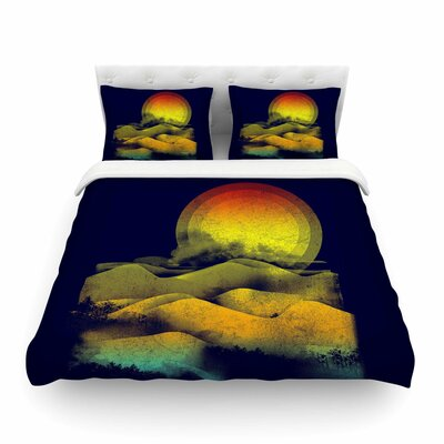 Sunset Landscape by Frederic Levy-Hadida Featherweight Duvet Cover Size: Twin