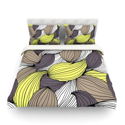 Wild Brush by Gabriela Fuente Featherweight Duvet Cover Size: King