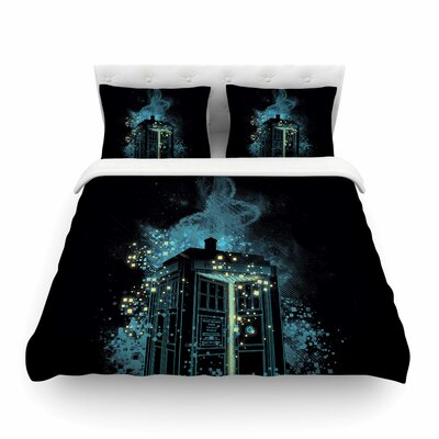 Regeneration Is Coming by Frederic Levy-Hadida Featherweight Duvet Cover Size: Full/Queen