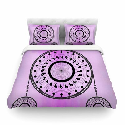 Bohemian Dream Catcher by Fotios Pavlopoulos Featherweight Duvet Cover Size: Twin