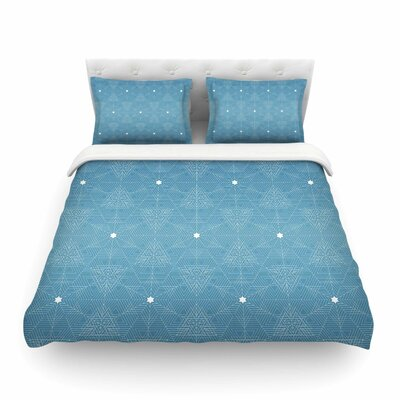 Celestial by Angelo Cerantola Featherweight Duvet Cover Size: Queen