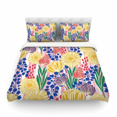 Pretty Bouquet Floral by Amy Reber Featherweight Duvet Cover Size: King