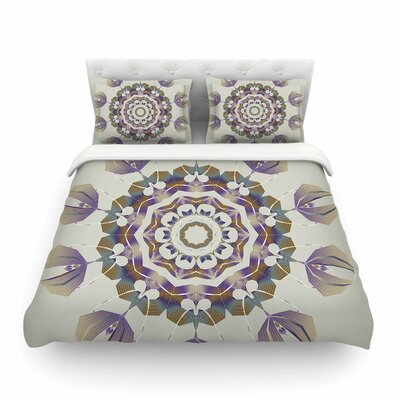 Reach Out Lavender by Angelo Cerantola Featherweight Duvet Cover Size: Queen