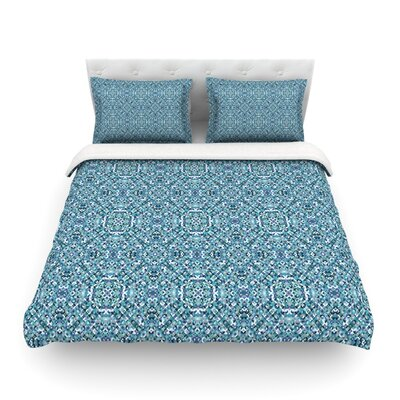 Ocean by Allison Soupcoff Featherweight Duvet Cover Size: Twin