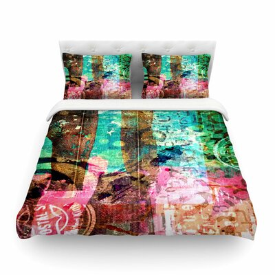 Abstract by Alyzen Moonshadow Featherweight Duvet Cover Size: King