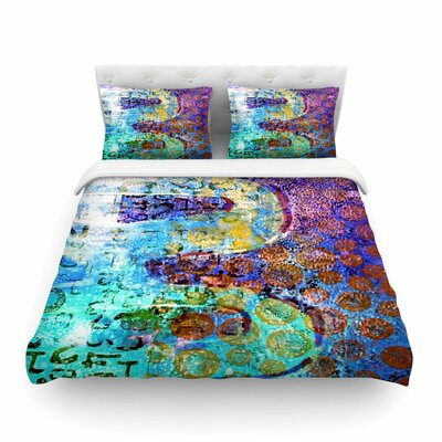 Arcane 2 by Alyzen Moonshadow Featherweight Duvet Cover Size: Queen