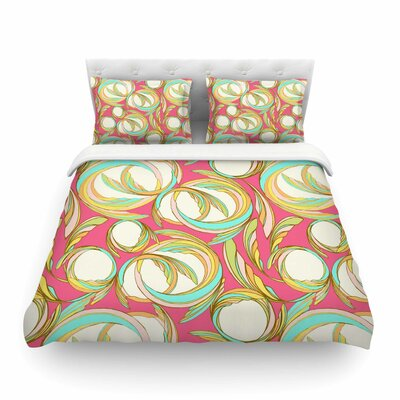 Cirle Sings by Amy Reber Featherweight Duvet Cover Size: King