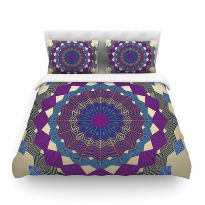 Composition by Angelo Cerantola Featherweight Duvet Cover Size: Twin, Color: Purple