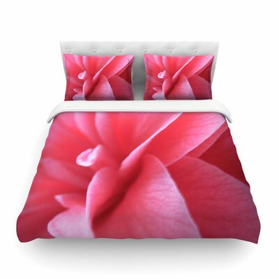 Camellia by Alison Coxon Featherweight Duvet Cover Size: King