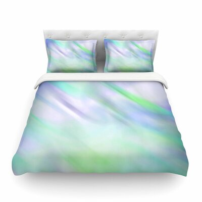 Mermaids Dream by Alison Coxon Featherweight Duvet Cover Size: King