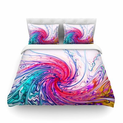 Fantasy by Alison Coxon Featherweight Duvet Cover Size: Twin