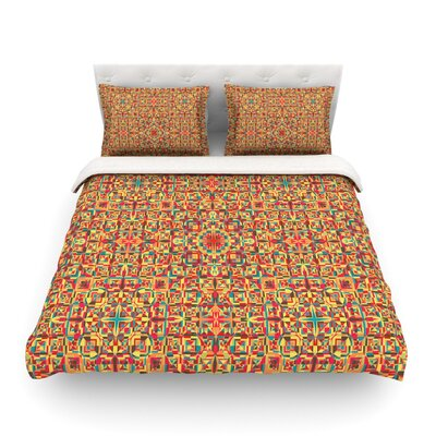 Circus by Allison Soupcoff Featherweight Duvet Cover Size: Twin