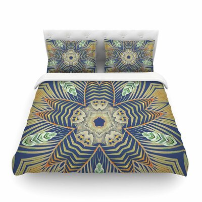 Kintenge Deep by Alison Coxon Featherweight Duvet Cover Size: Queen