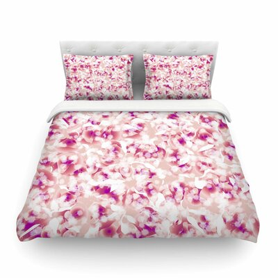 Rosebreath Flora by Angelo Cerantolal Featherweight Duvet Cover Size: Queen