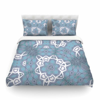 Tribal Air by Alison Coxon Featherweight Duvet Cover Size: Queen