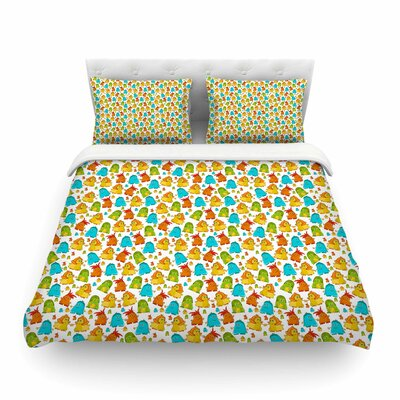 Good Monsters Kids by Alisa Drukman Featherweight Duvet Cover Size: King