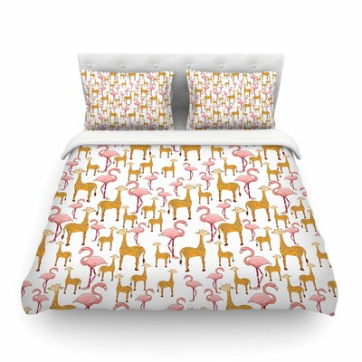 Summer by Alisa Drukman Featherweight Duvet Cover Size: Queen