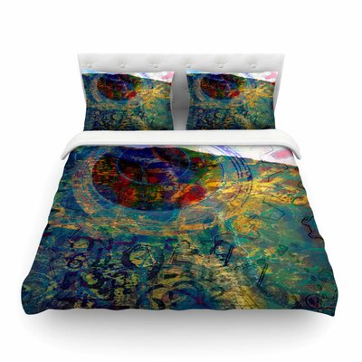 Discover 3 by Alyzen Moonshadow Featherweight Duvet Cover Size: Twin