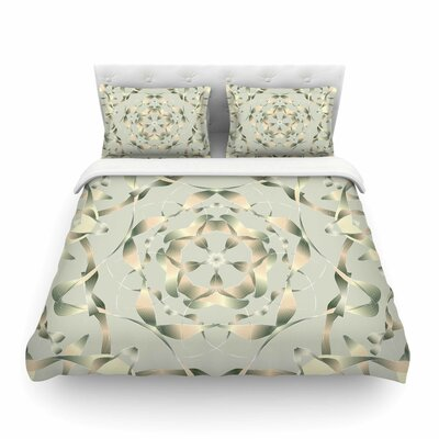 Kingdom Digital by Angelo Cerantola Featherweight Duvet Cover Size: Queen